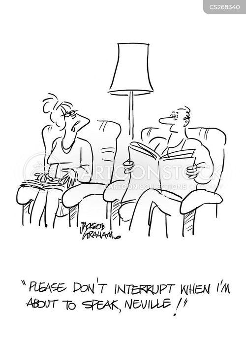 talkative cartoon