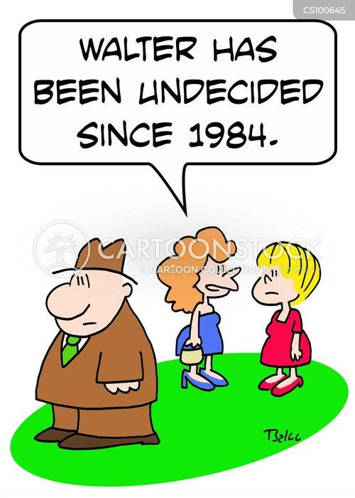 voting allegiance cartoon
