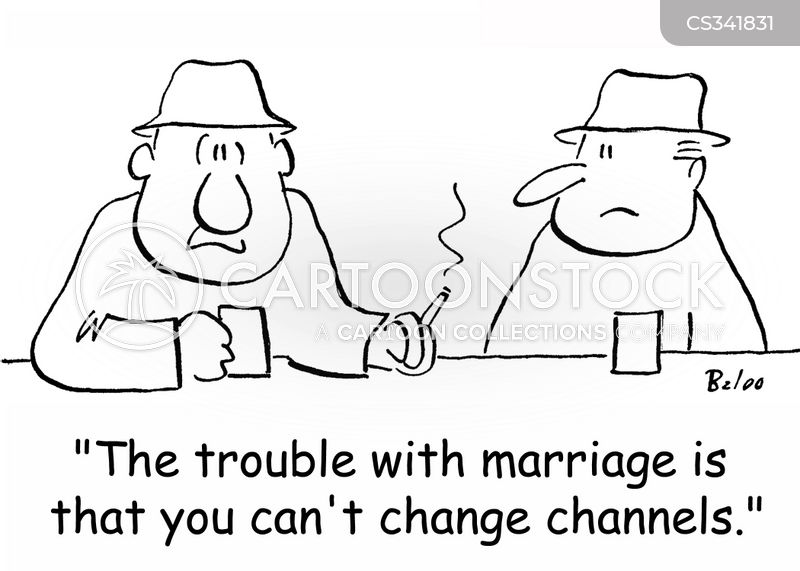 change channels cartoon