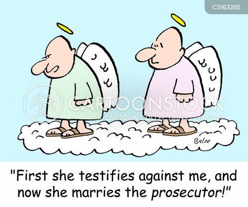 testifies cartoon