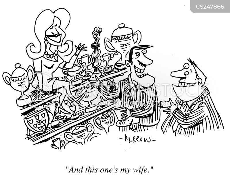 chauvenistic cartoon