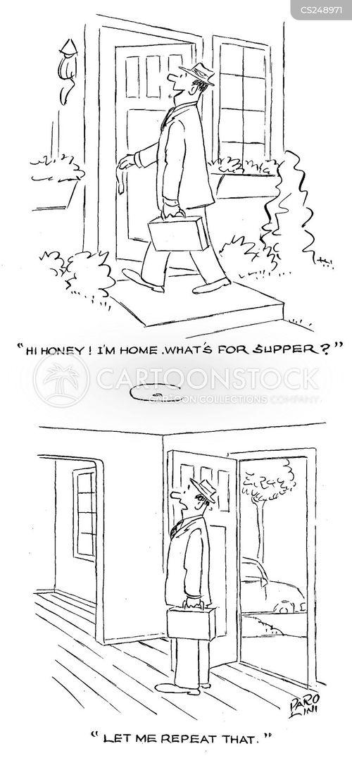left home cartoon