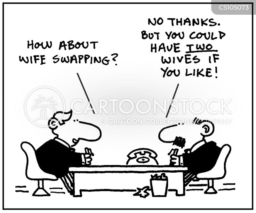 swapped cartoon