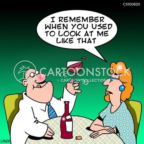 vintage wine cartoon