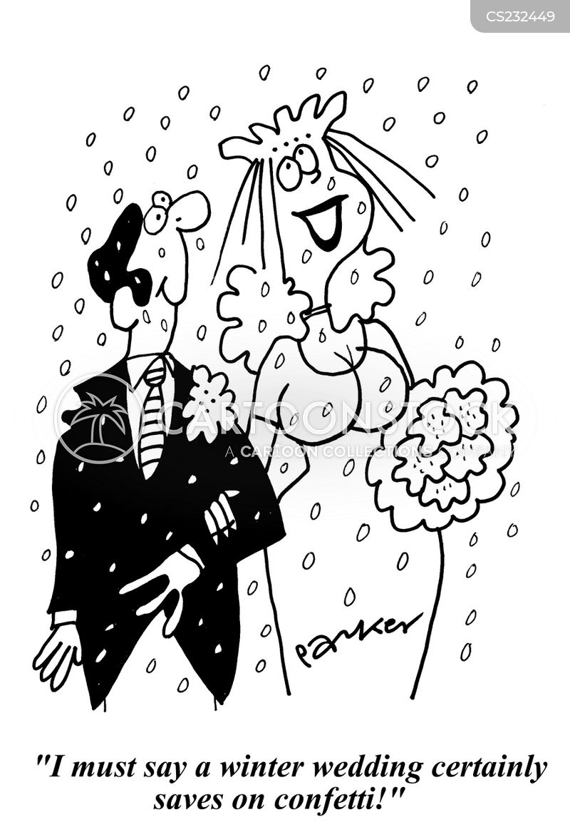 winter wedding cartoons and comics funny pictures from cartoonstock