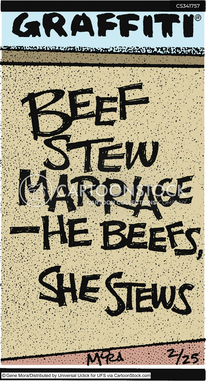 beef stew cartoon