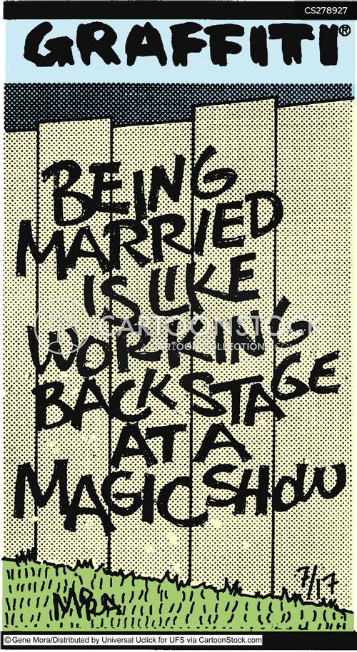 backstage cartoon