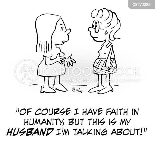 belief in humanity cartoon