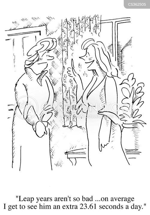 leap years cartoon
