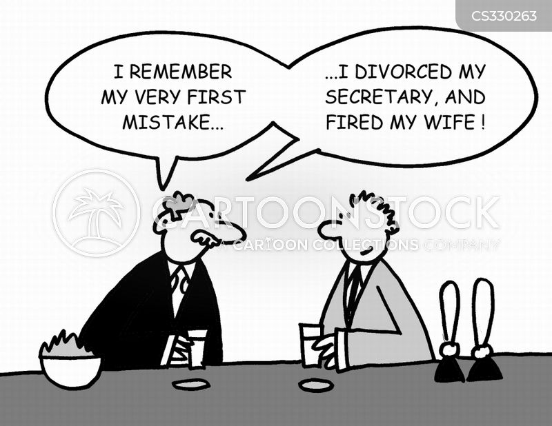 first mistake cartoon
