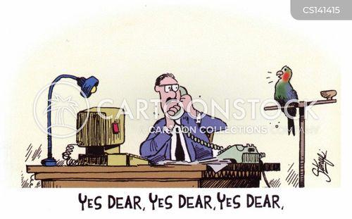 yes dear cartoon