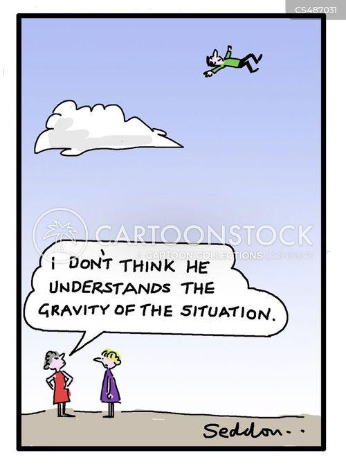 zero gravity cartoon
