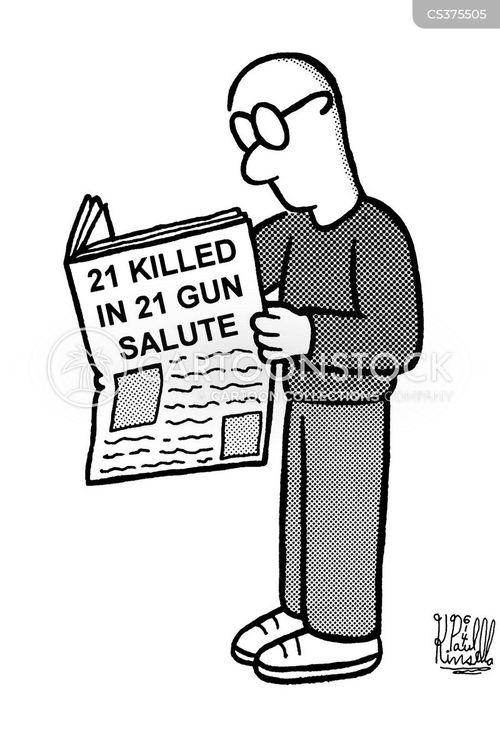 salute cartoon