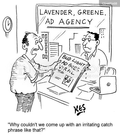 advertising firm cartoon