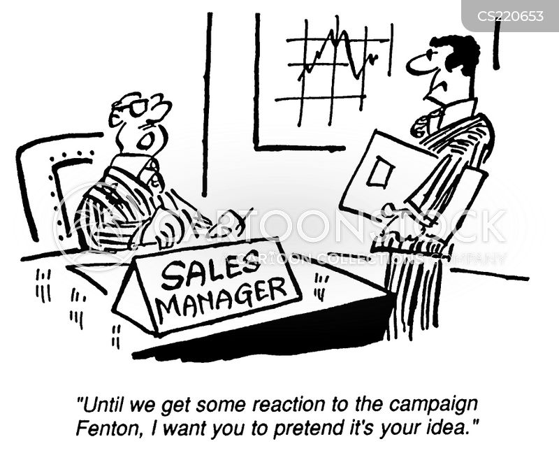 account managers cartoon
