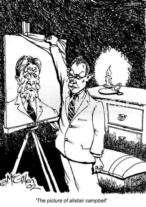 campbell cartoon