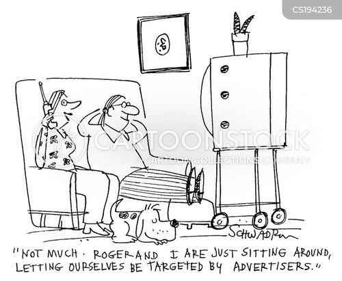 complacent cartoon