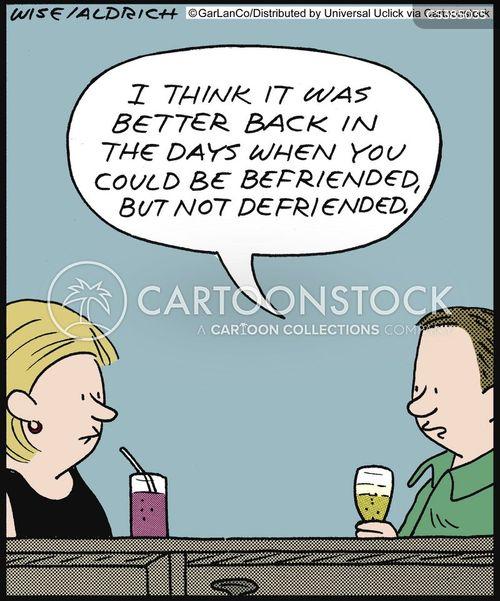 friendliness cartoon
