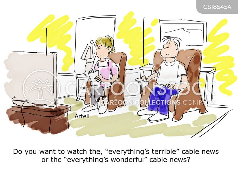 news show cartoon