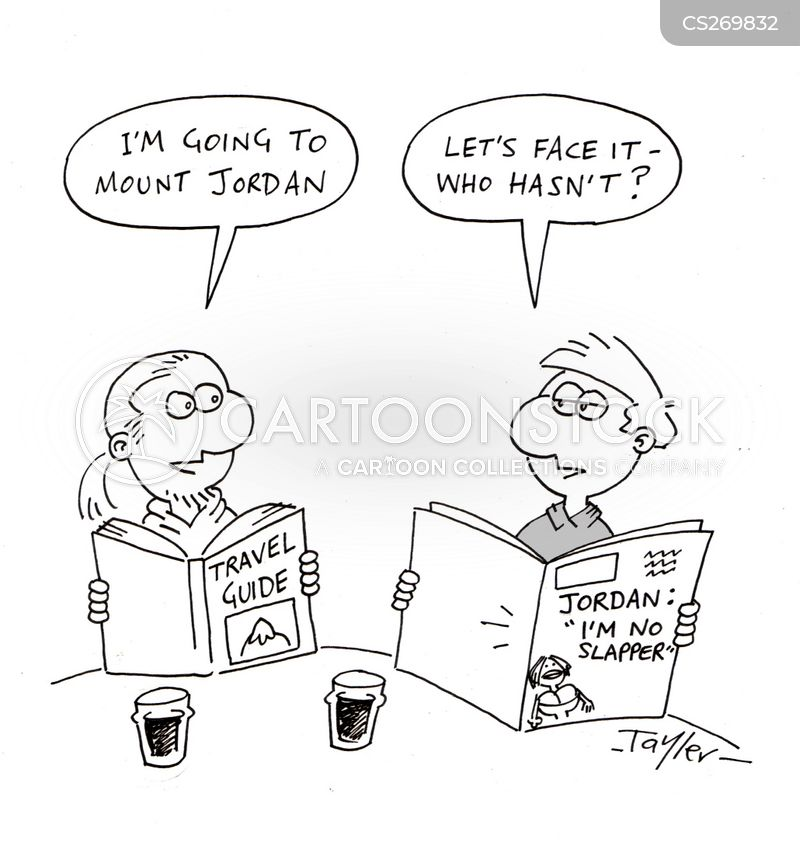 jordan cartoon
