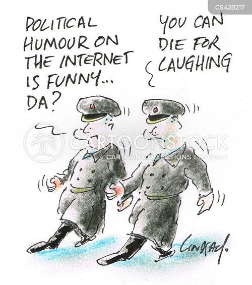 online censorship cartoon