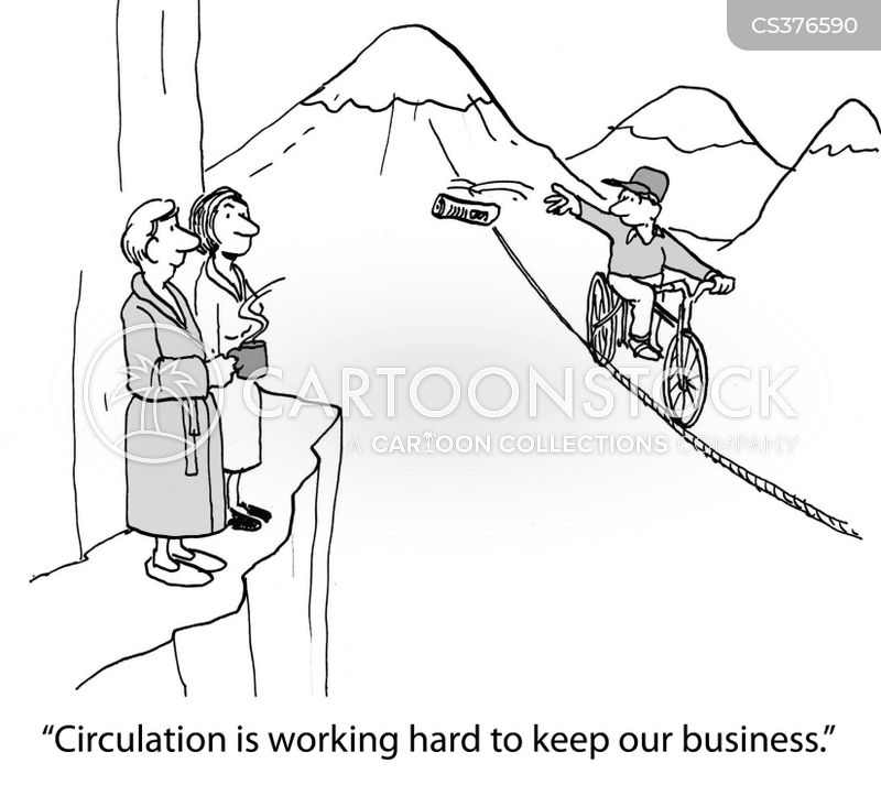 circulation cartoon
