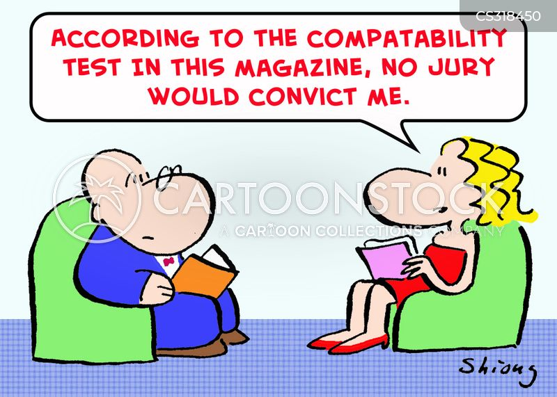 Compatibility Tests Cartoons and Comics - funny pictures