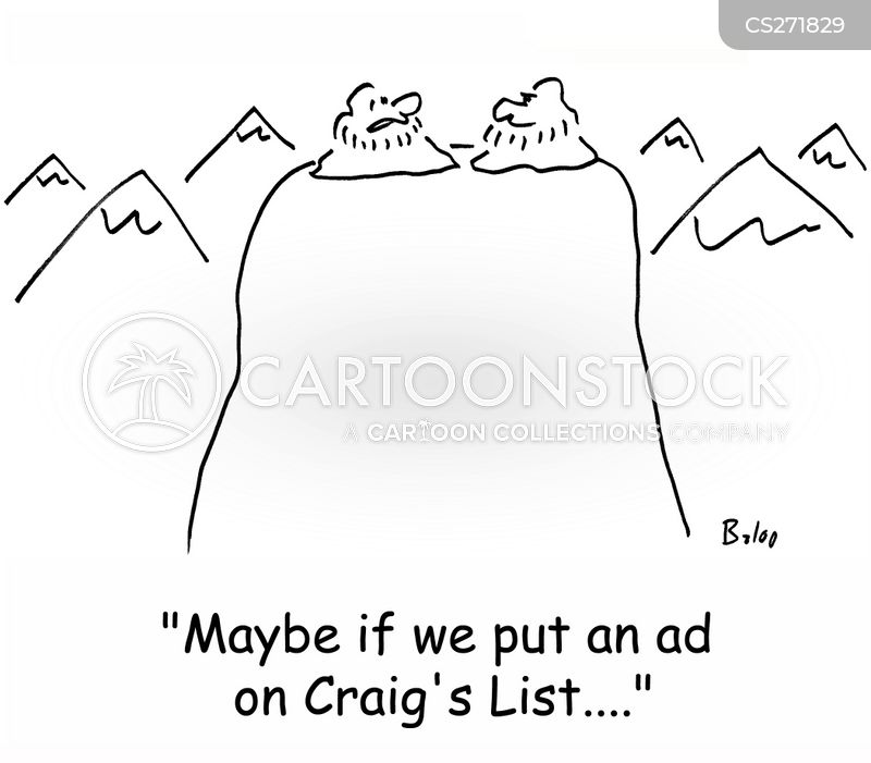 craigs list cartoons and comics funny pictures from cartoonstock