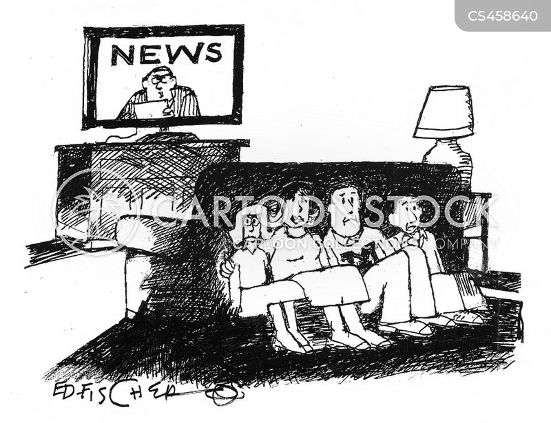 sensationalism cartoon