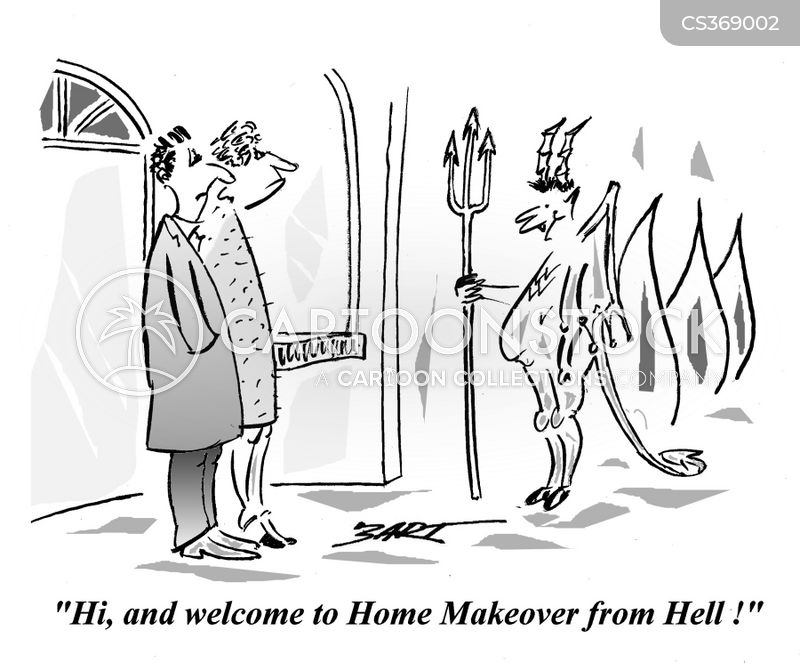 Home Makeover Cartoons And Comics Funny Pictures From