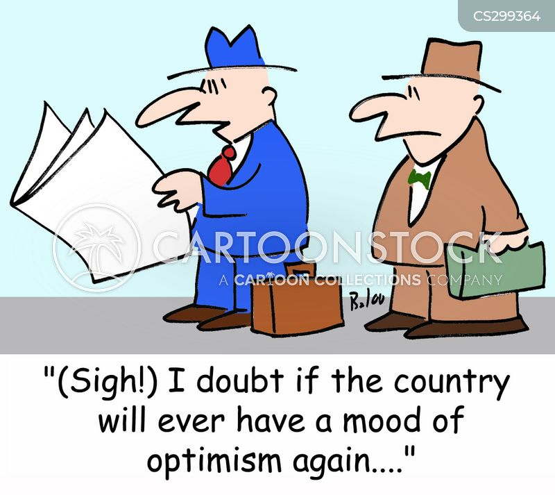 feeling positive cartoon