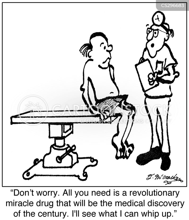 miracle cures cartoon