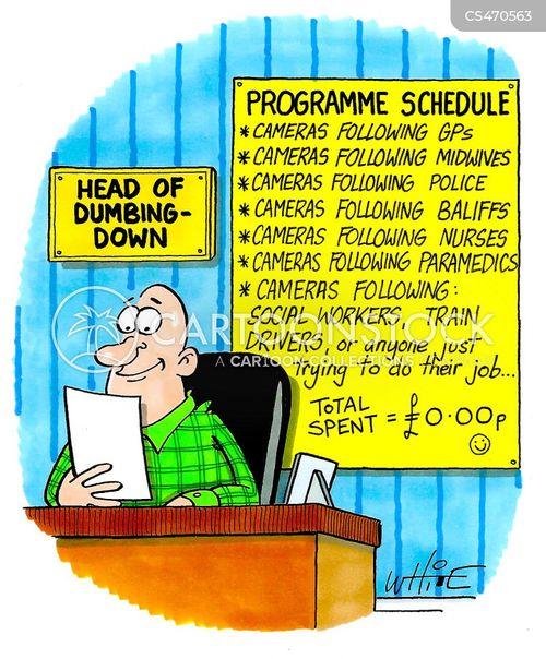 cheap tv cartoon