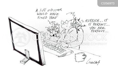 sub editors cartoon