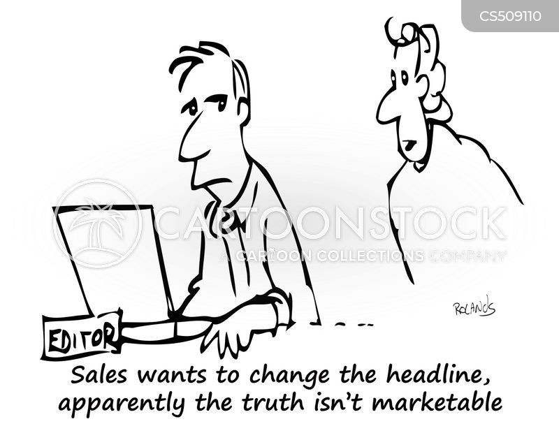 headline news cartoon