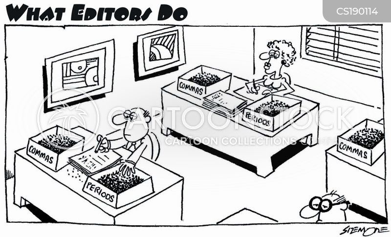 sub editor cartoon