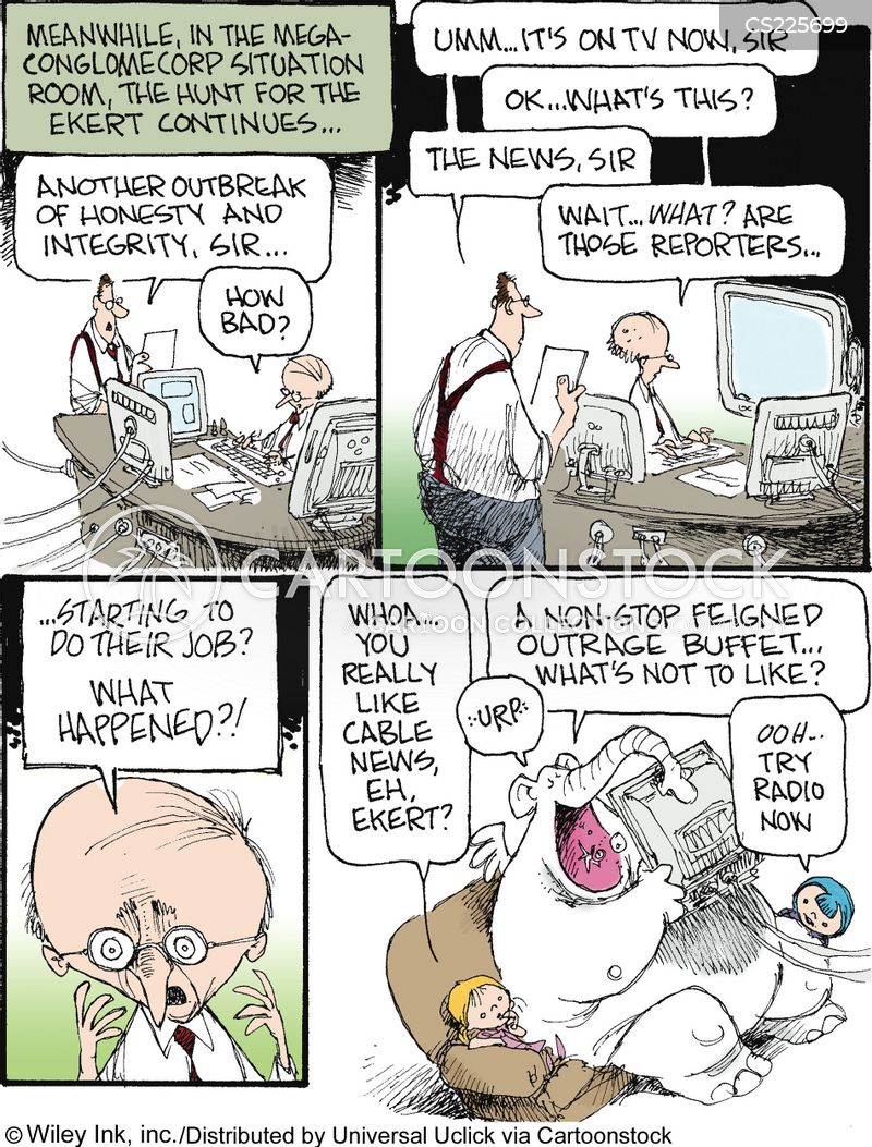 press ethics cartoon