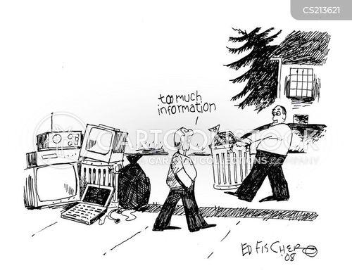 electronic media cartoon