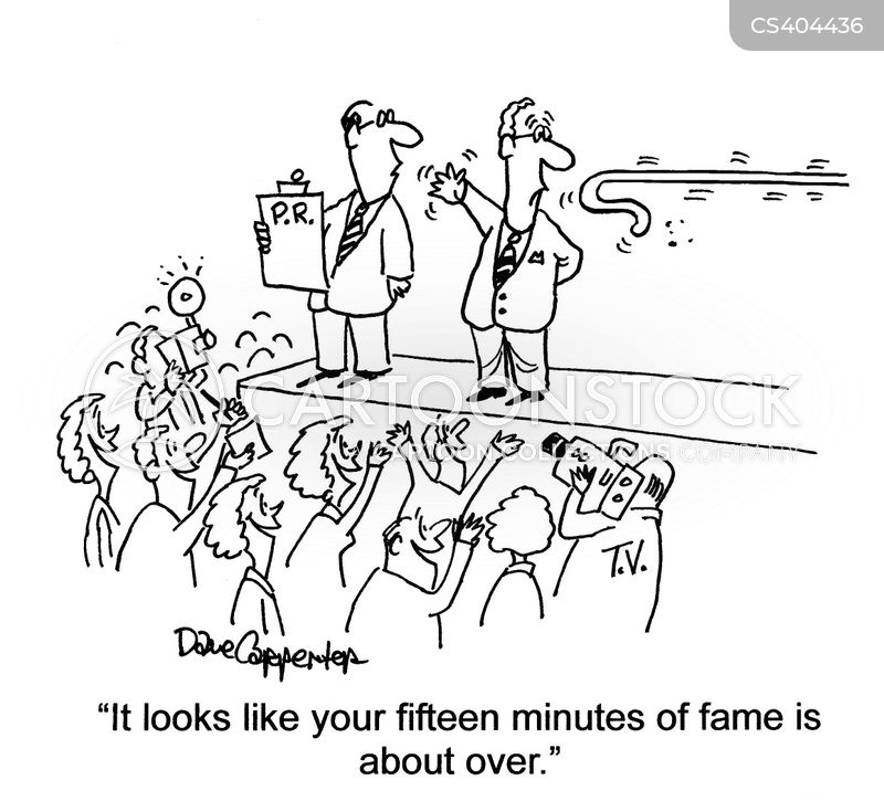 famousness cartoon