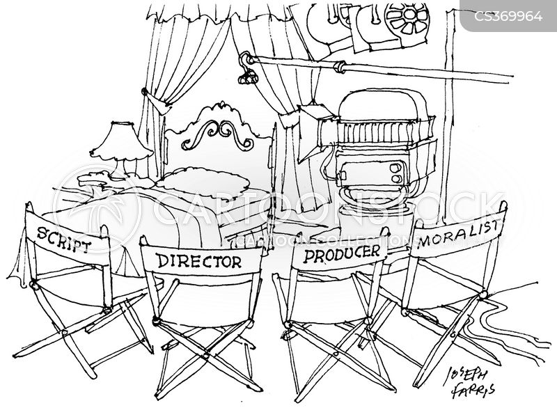 script writers cartoon