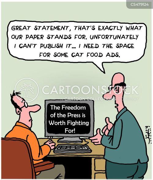 marketing space cartoon