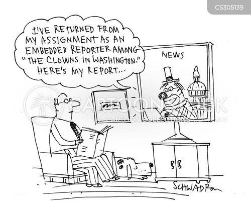 embedded reporter cartoon