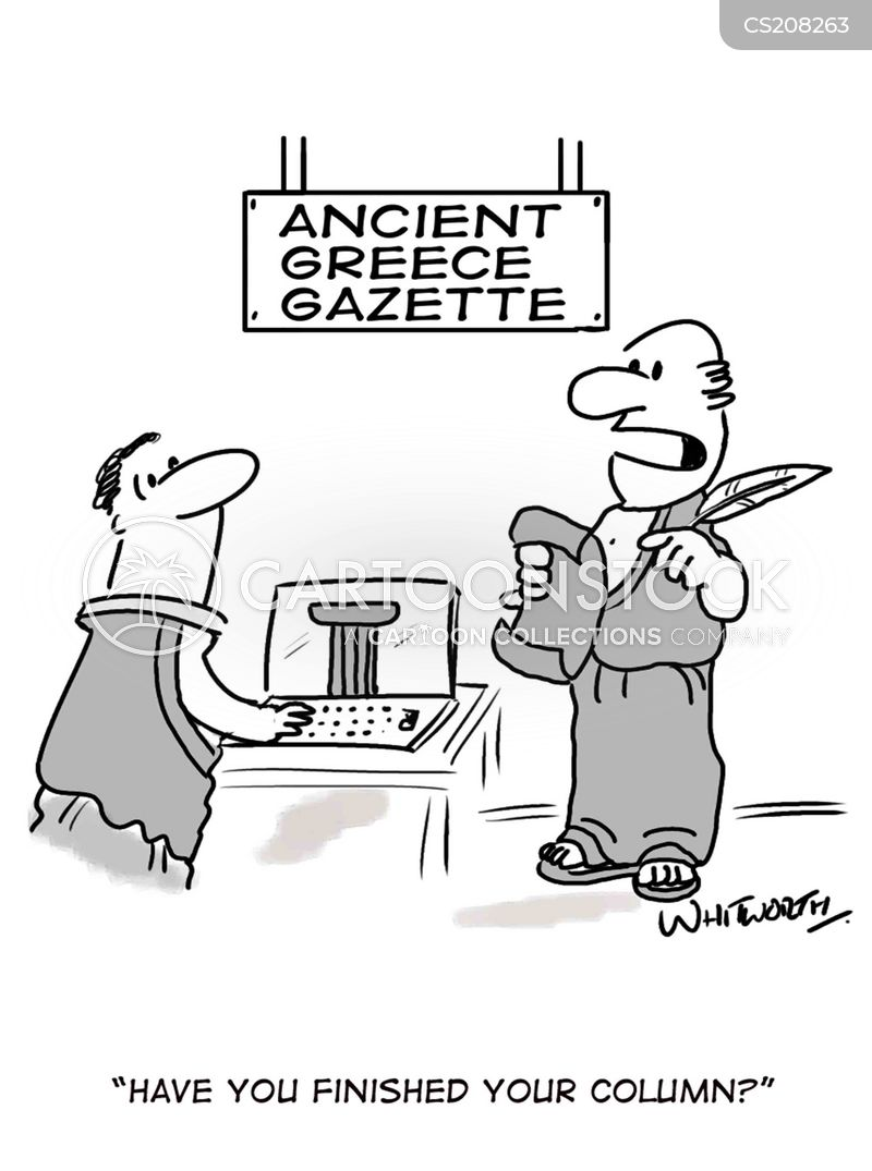 Greek Architecture Cartoons And Comics Funny Pictures From