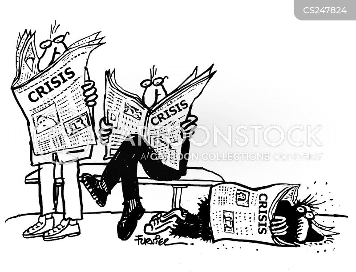 compassion fatigue cartoon