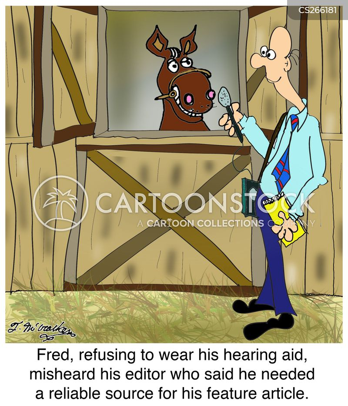 reliable source cartoon