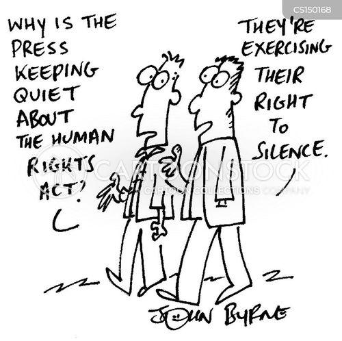 media silence cartoon