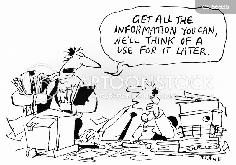 private information cartoon
