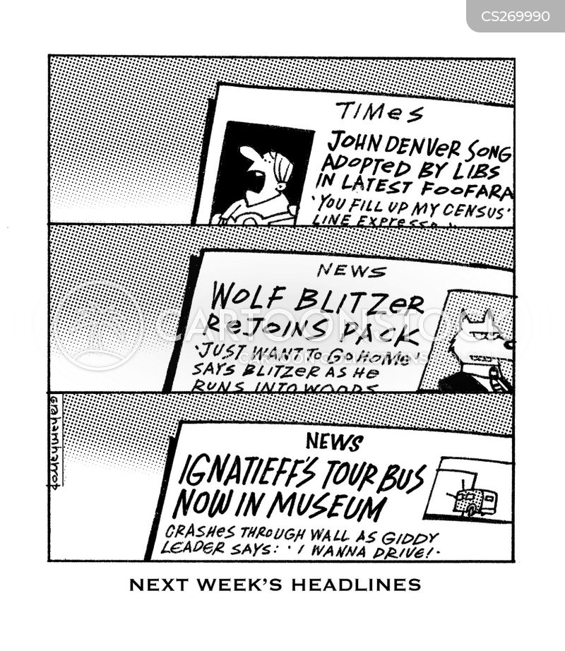 blitzer cartoon