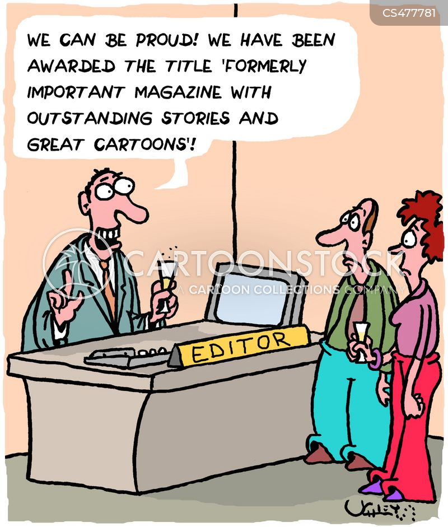 magazine editors cartoon
