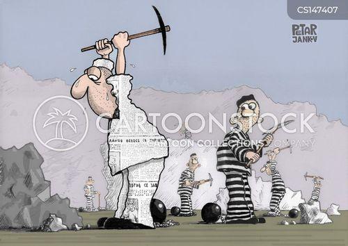 chain gangs cartoon
